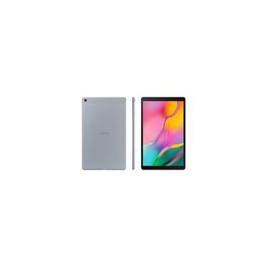 """Imagem de Tablet Samsung Galaxy TAB A 10.1 32GB - 4G, Prata, Processador Octa Core, Tela 10.1"""", Câmera 8MP + Frontal 5MP"""