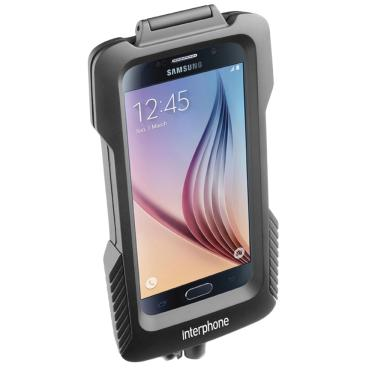c5afeeb2c Capa Suporte Smartphone Pro Case Samsung Galaxy S6   S6 Edge   S7 para  Guidão Interphone