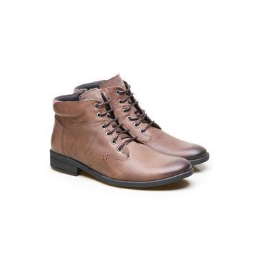 Bota Coturno Masculina em Couro Calvest BLA – Bronze 3920C534