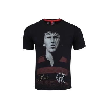 Camiseta do Flamengo Ídolo - Masculina - PRETO Braziline 3c82662f80d45