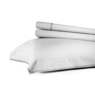 8641de0943 Jogo de lençol 200 fios Buddemeyer Basic Premium casal branco