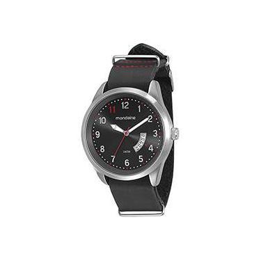 00d6ba271f1 Relógio Masculino Mondaine Analógico com Calendário Casual 76500G0MVNH2