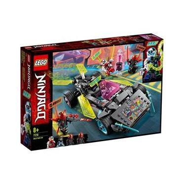 Lego Ninjago Veiculo Carro Tunado Ninja Com 419 Peças 71710