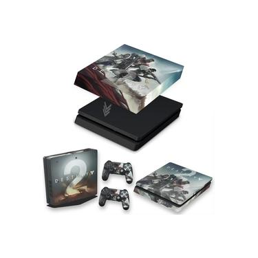 Capa Anti Poeira e Skin para PS4 Slim - Destiny 2