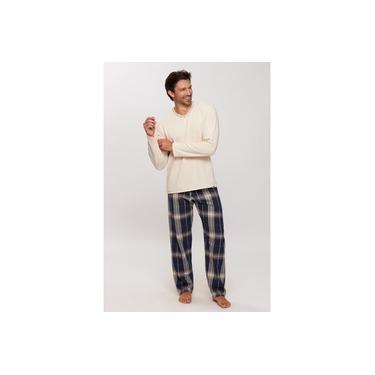 Pijama Recco Masc. Moletinho Palha 14650