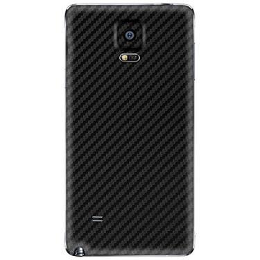 Adesivo Skin Premium - Fibra de Carbono Samsung Galaxy Note 4 (Preto)