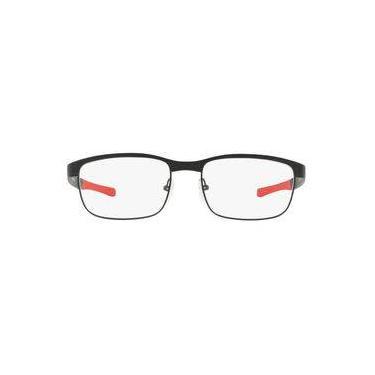 b1c72b7184b88 Óculos De Grau Oakley Surface Plate 0ox5132 04 54 Preto Fosco