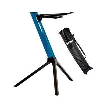 Estante Suporte Teclado Stay Compact 70cm Azul Com Capa