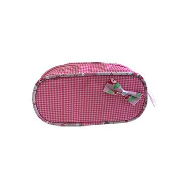 Necessaire Oval Sweet  Rosa - Apparatos