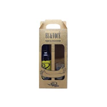 Kit Cerveja Way Premium Lager 600ml c/ Copo Exclusivo