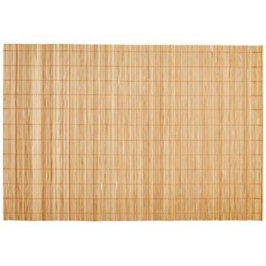 Jogo Americano Bamboo com 4 Unidades 30X45 Mimo Style Bege
