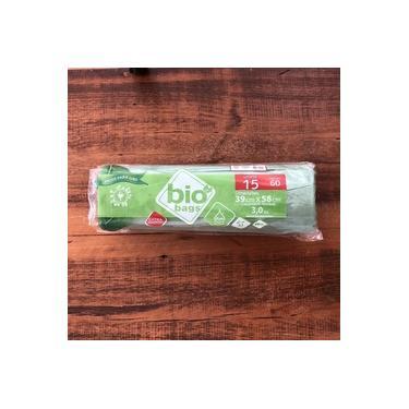 Sacos Para Lixo Bio Bags 15 Litros Oxi-biodegradável