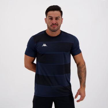 Camisa Kappa Maggio Dry Marinho - P