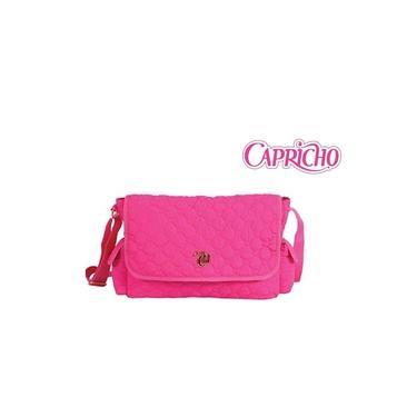 Bolsa Pasta Carteiro Capricho Love Pink Rosa - 48601