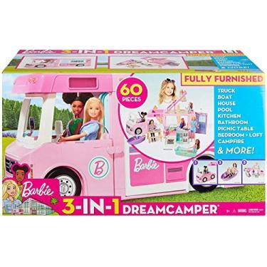 Imagem de Barbie Trailer dos Sonhos 3 em 1 - Mattel