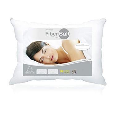 Imagem de Travesseiro Poliéster Fiber Ball 50x70 Plooma branco Poliéster Fiber Ball