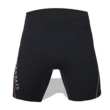 Shorts de neoprene 1,5 mm feminino masculino calções de mergulho trajes de banho para mergulho com snorkel canoa surf