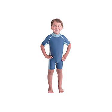 Imagem de Macacão para Natação Bestway Careful Swim Suits Azul