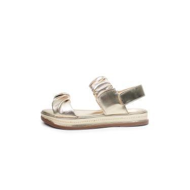 Imagem de Sandália Flat Damannu Shoes Kim Dourado  feminino