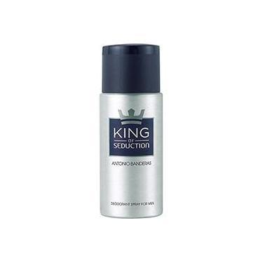Desodorante Antonio Banderas King of Seduction Masculino 150ml