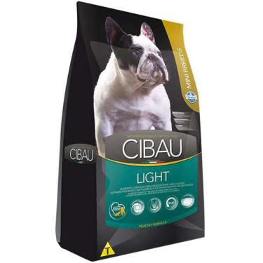 Ração Farmina Cibau Light para Cães Adultos com Tendência a Obesidade de Raças Pequenas - 1 Kg