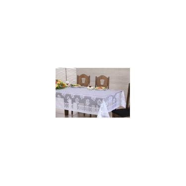 Imagem de Toalha De Mesa Quadrada Coleção Rosas 160 Cm X 160 Cm