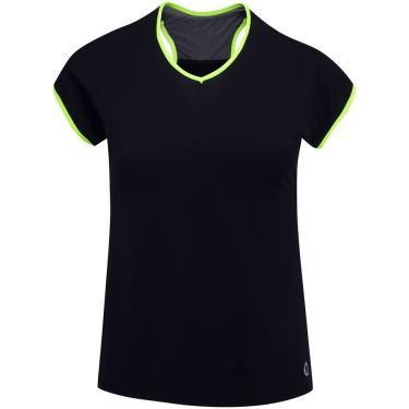 Camiseta Vestem Rose Recorte Costas - Feminina Vestem Feminino