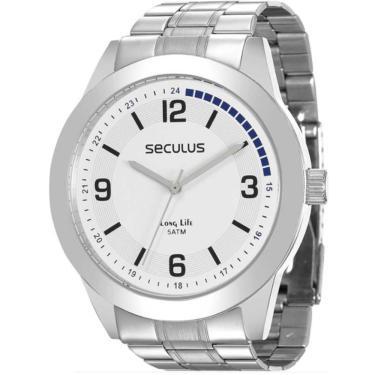 55ea7d3c975 Relógio de Pulso Masculino Seculus Analógico SHOPLOKO