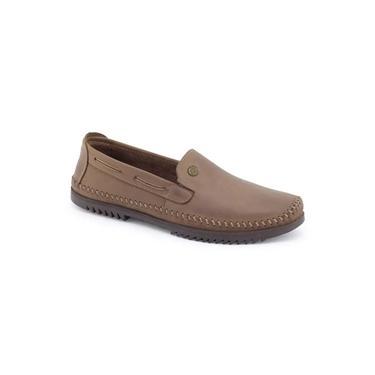 Sapato mocassim masculino Way 1 GG Couro sapatilha Freeway