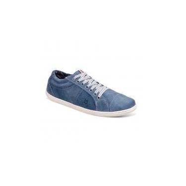 Sapatênis masculino sandro moscoloni sebastian azul claro jeans - Sandro republic