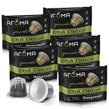 Kit Cápsulas de CháDetox Aroma - Compatíveis com Nespresso® - 50 un.