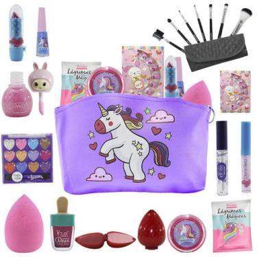 Imagem de Kit De Maquiagem Infantil Bz83 - Bazar Web