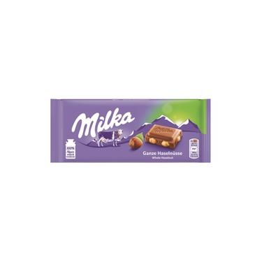 Milka Whole Hazelnuts 100g