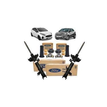 Kit Amortecedor Dianteiro New Fiesta 2010 A 2019 Novo Ka Todos Originial Ford