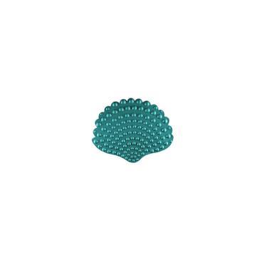 Imagem de Tapete Infantil Para Box - Concha Verde 55 X 45 Cm