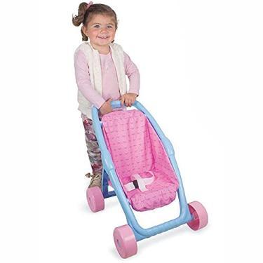 Imagem de Carrinho de Boneca Passeio do Bebê Princesas, Nig Brinquedos