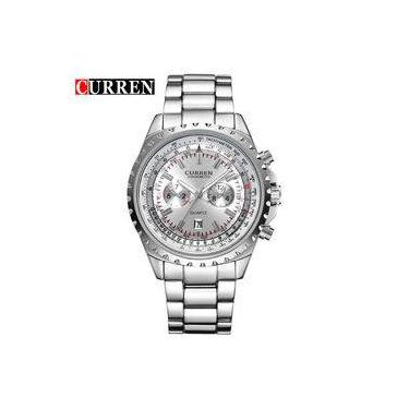 e6e63ee0b0f Relógio Curren Casual Masculino Original - Modelo 8053