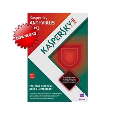 Antivírus Kaspersky 2013 Download para 10 Computadores