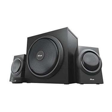 Conjunto Subwoofer Trust Yuri 2.1 Speaker