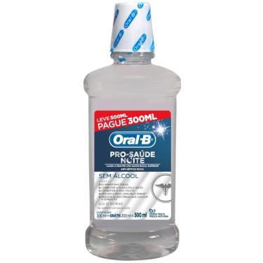 Antisséptico Bucal Oral-B Pro Saúde Noite Leve 500mL Pague 300mL