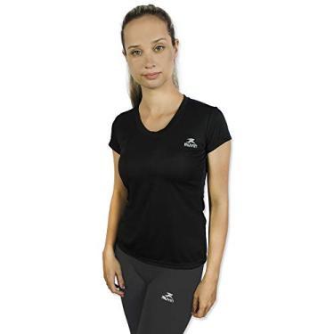 Camiseta Color Dry Workout Ss - Muvin - Cst-400 - Preto - M
