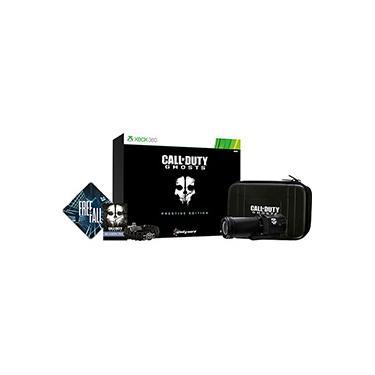 Game Call of Duty Ghosts Prestige Edition + Câmera Tática HD 1080p Ghosts USB Preto - XBOX 360