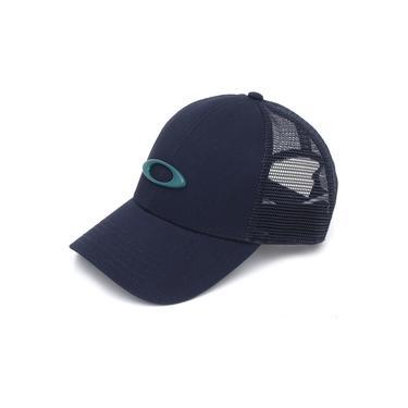 Boné Oakley Trucker Ellipse Azul Marinho