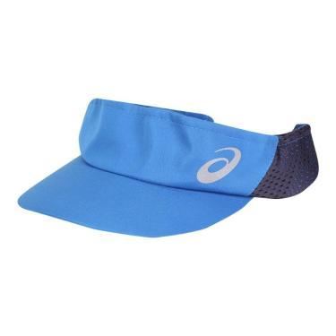 Viseira Asics Mad Dash ZCB4259-756, Cor: Azul/Azul Marinho, Tamanho: U