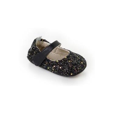 Sapatilha Fiorela Glitter Preto