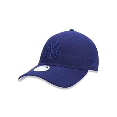 BONÉ NEW ERA FEMININO 9TWENTY MLB NEW YORK YANKEES MARINHO