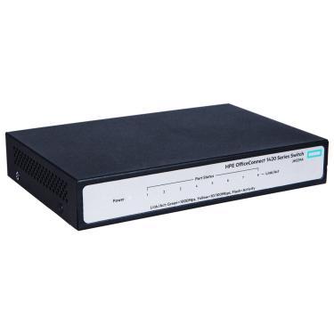 Switch 8 Portas Hp Enterprise 1420-8G - 8 Portas Gigabit 10/100/1000Mbps - Jh329a