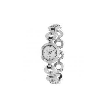 487dd53e8b0 Relógio de pulso casual zoot analanalógico versalles - prata branco