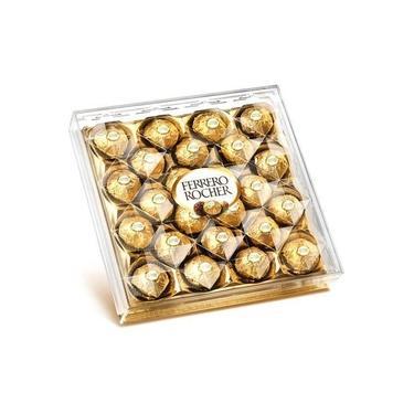 Bombom Ferrero Rocher, 24 Unidades, 300g