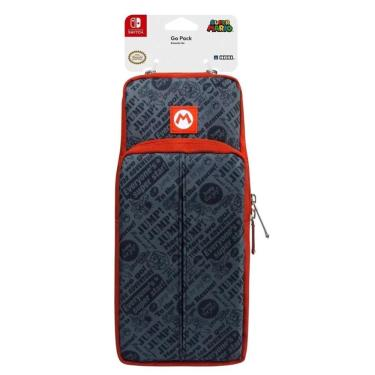 Bolsa Go Pack Hori Super Mario Nintendo Switch